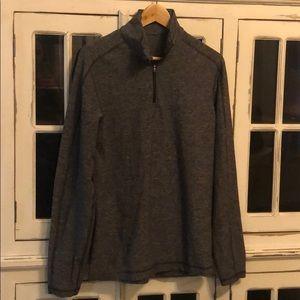 Lululemon Surge Warm Half Zip - Gray